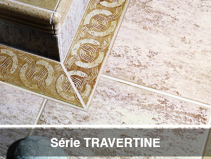SÉRIE TRAVERTINE
